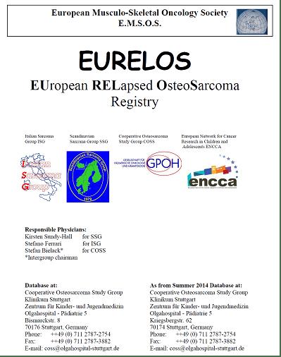 Eurelos European Relapsed Osteosarcoma Registry